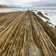 Flysch dramatic rock formation Cantabric sea in Zumaia, Euskadi. Spain - PhotoDune Item for Sale