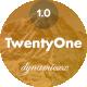 TwentyOne - Responsive Email + Online Template Builder