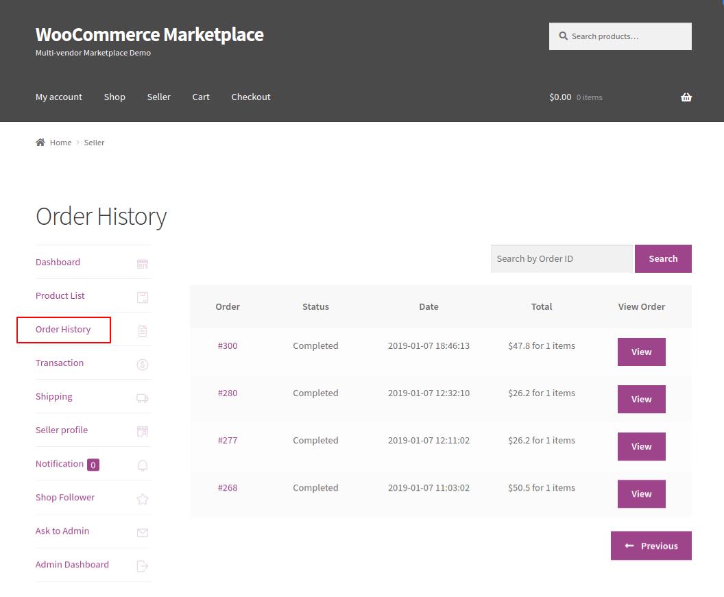 WordPress WooCommerce Multi Vendor Marketplace Plugin