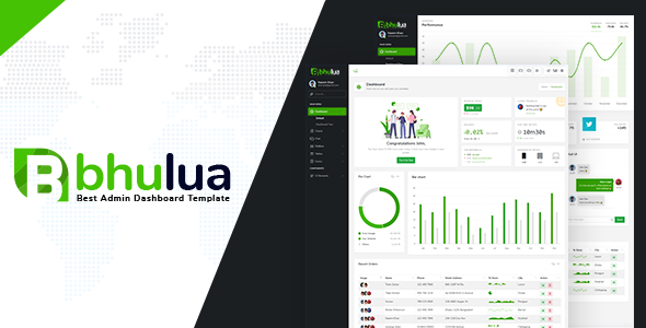 Bhulua - Bootstrap 4 Admin Template Deshboard by thememinister