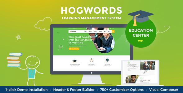 Good Hogwords | School, University & Education Center WordPress Theme