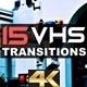 VHS TV Transitions - VideoHive Item for Sale
