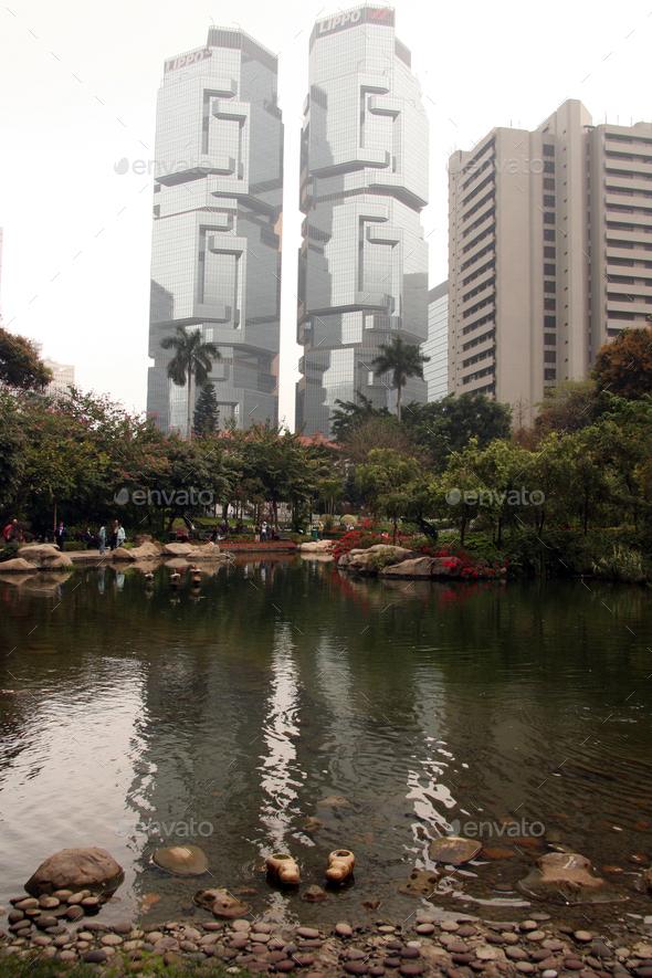 Hong Kong Park, Hong Kong - Stock Photo - Images