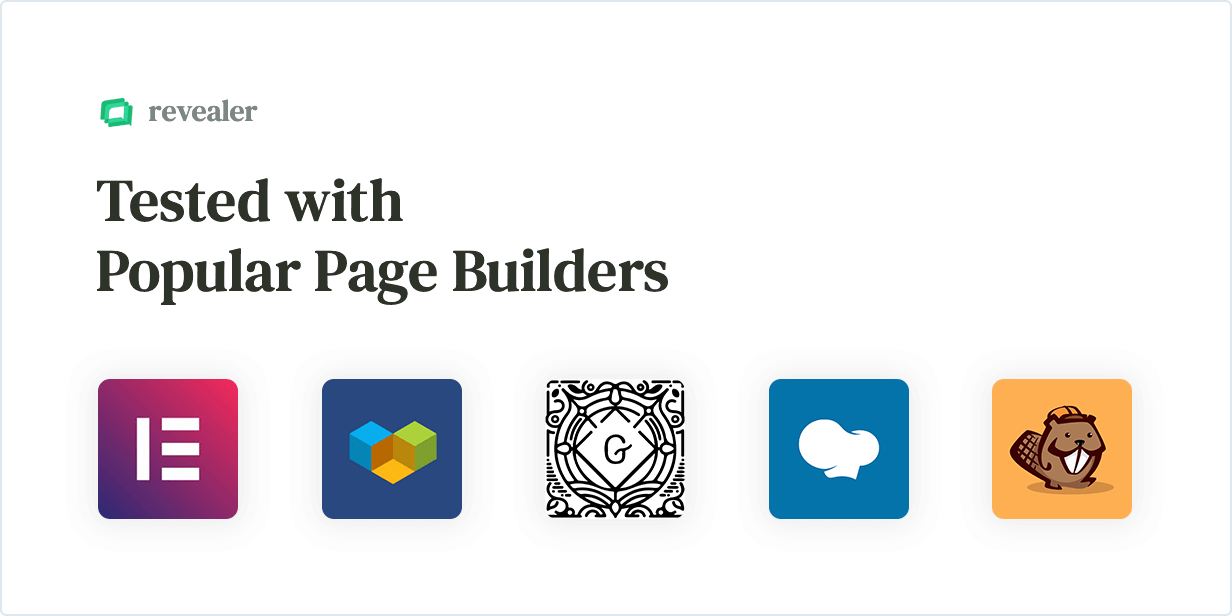 Revealer – Navigation popup for WordPress links
