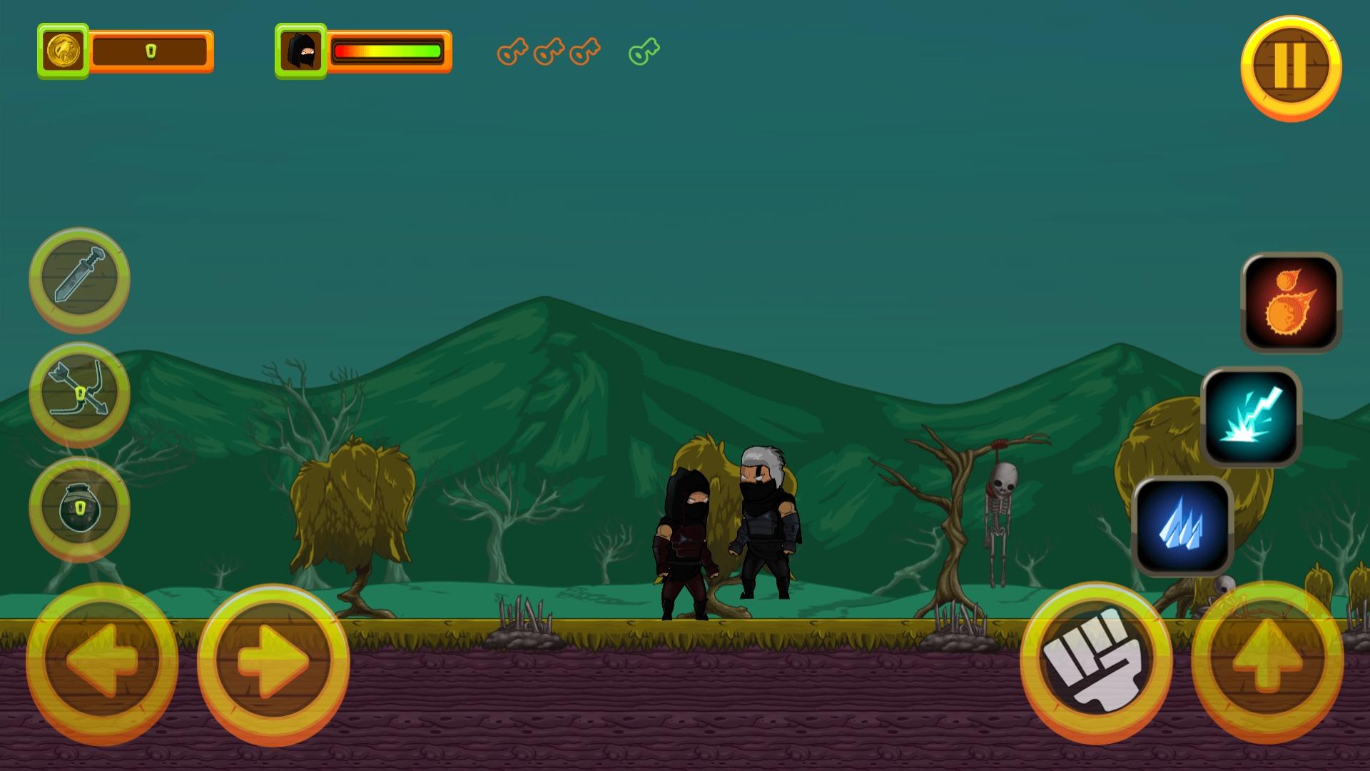Black Assassin - HTML5 Game + Mobile Version (Construct 3 / C3P) - 6
