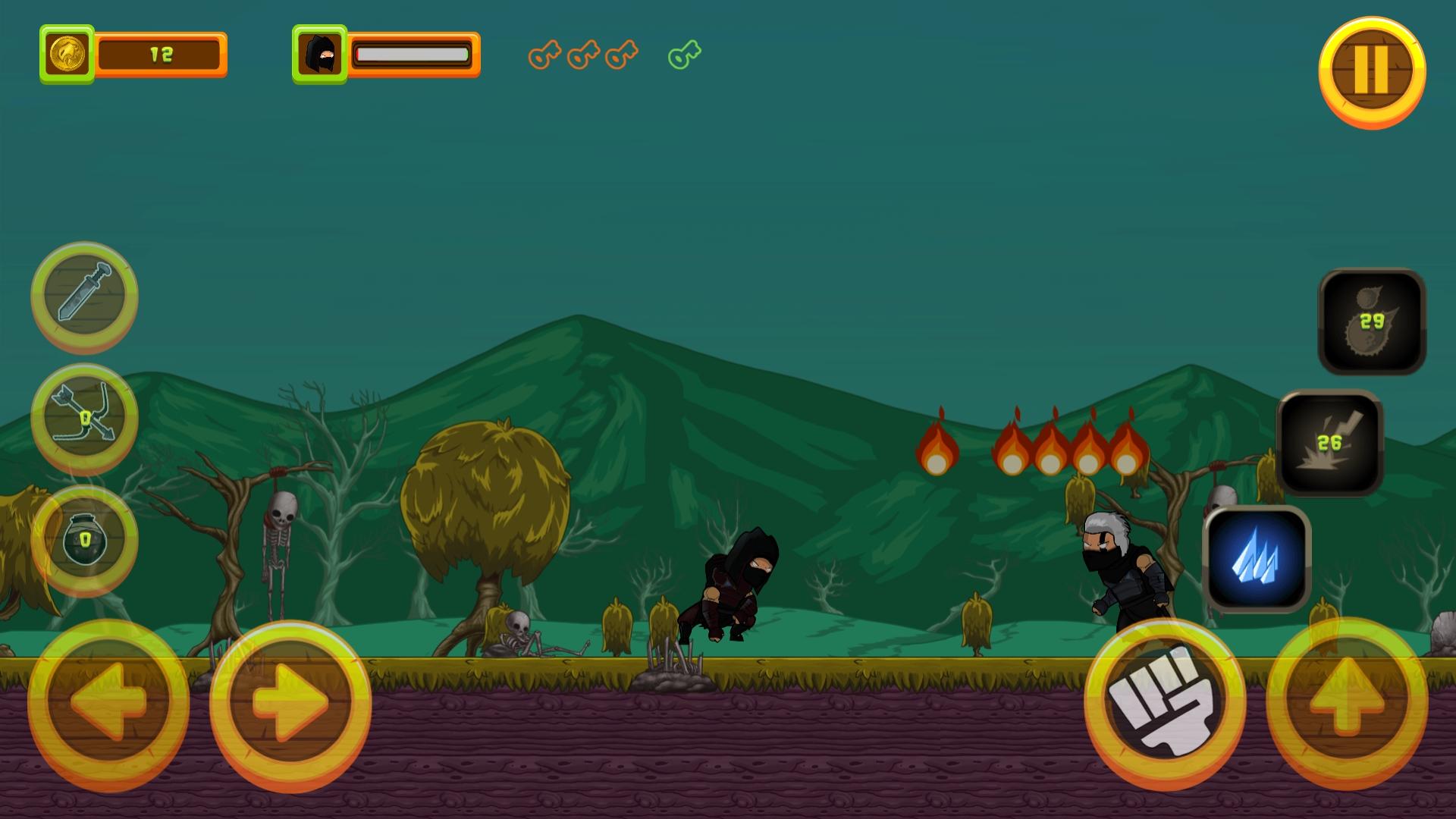 Black Assassin - HTML5 Game + Mobile Version (Construct 3 / C3P) - 7