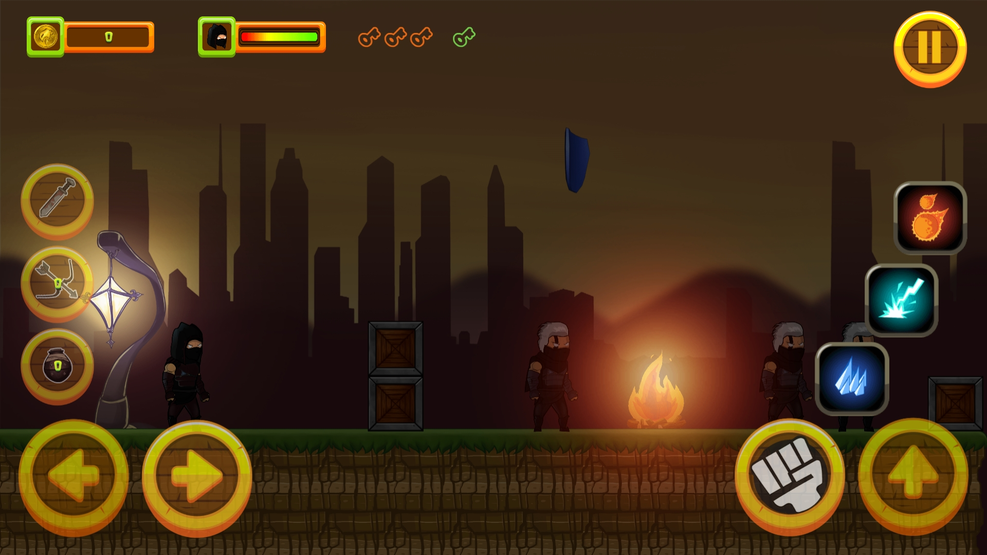 Black Assassin - HTML5 Game + Mobile Version (Construct 3 / C3P) - 11