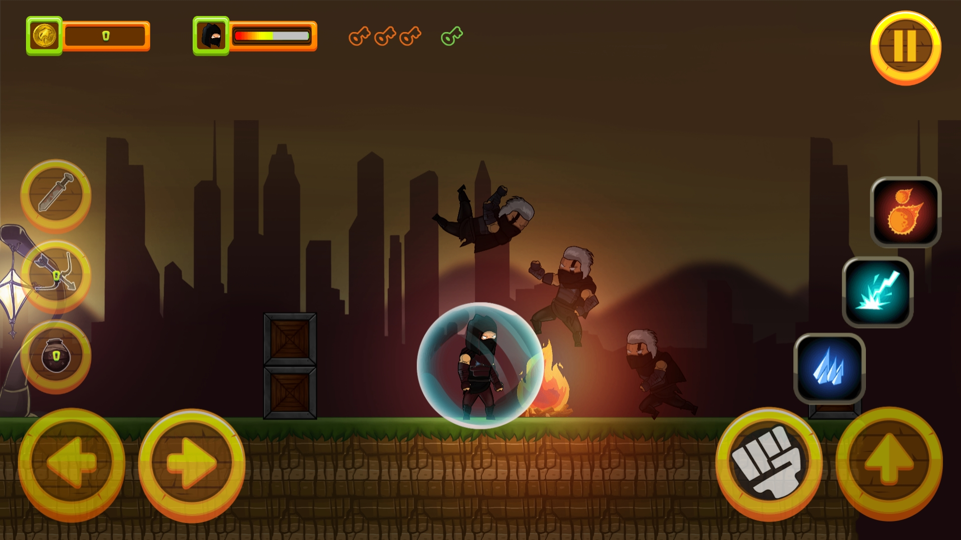 Black Assassin - HTML5 Game + Mobile Version (Construct 3 / C3P) - 12