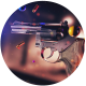 Gun And Bullets Looped Background - VideoHive Item for Sale