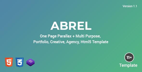 Abrel - Multi Purpose Html Template by Roelnie