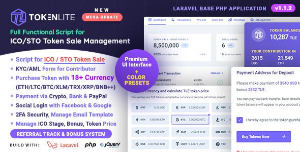codeandi - TokenLite - ICO / STO Token Sale Management