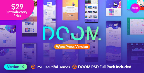 Doom - Multi-Purpose WordPress Theme