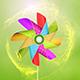 Pinwheel logo - VideoHive Item for Sale