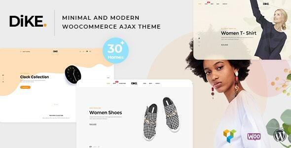 Dike - Minimal and Modern Shopify AJAX Theme