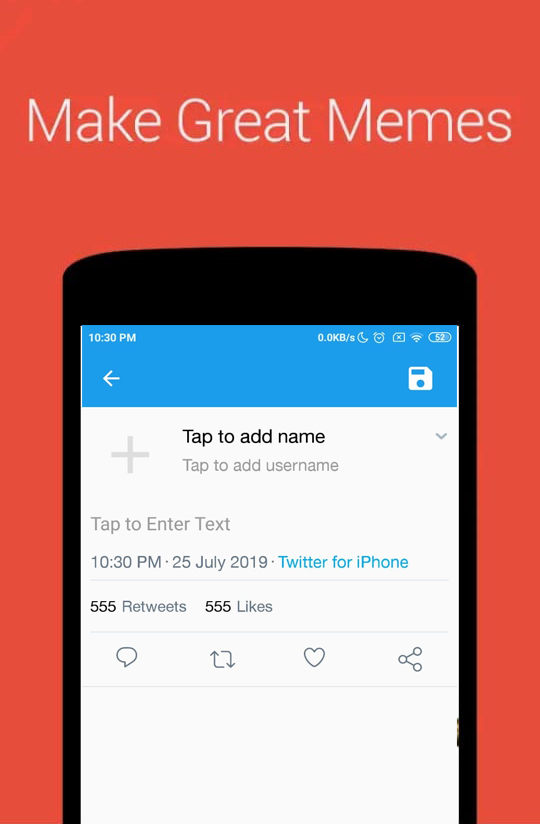Fake Posts : Twitter Tweets & Facebook Post Maker | Admob | Firebase Push  Notifications