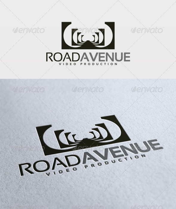 Road Avenue Logo - Vector Abstract