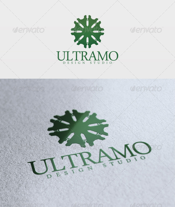 Ultramo Logo - Vector Abstract