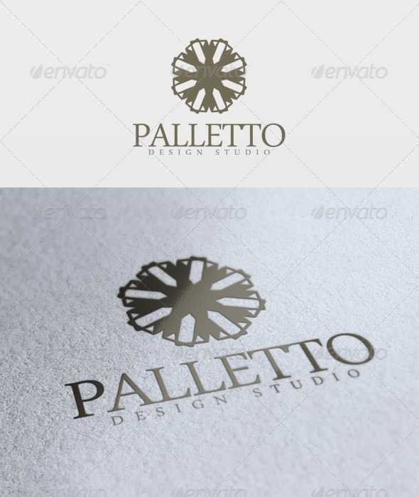 Palletto Logo - Vector Abstract