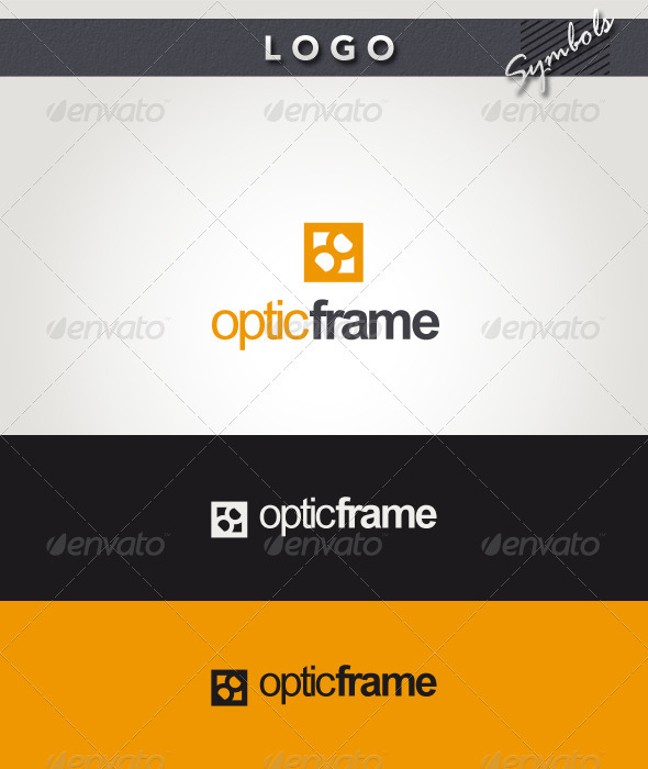 Optic Frame Logo - Symbols Logo Templates