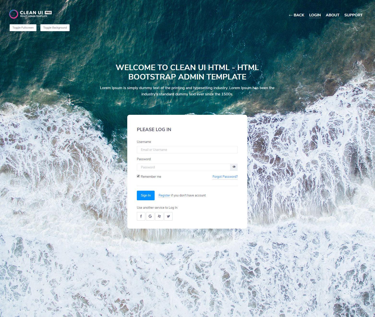 Clean UI React Pro — Multi Concept Admin Template
