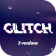 Modern Glitch Logo - VideoHive Item for Sale