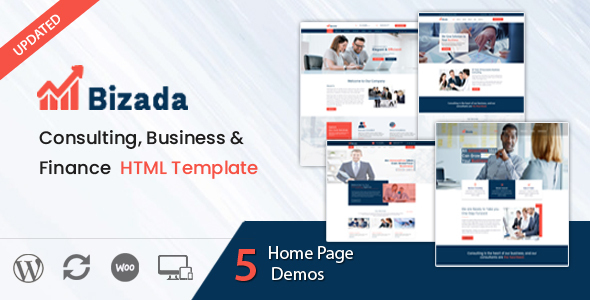 Bizada – Business Consulting HTML Template