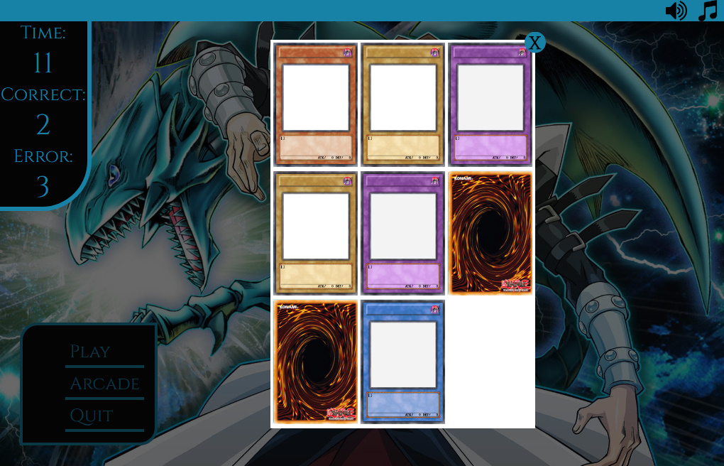 Memory Game Template - HTML5
