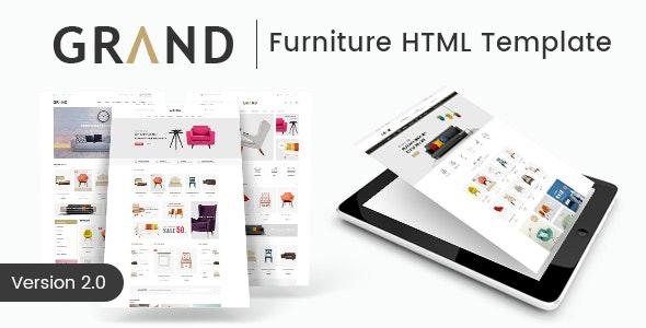 Grand - Furniture HTML Template