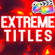 Extreme Titles | FCPX - VideoHive Item for Sale