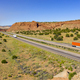 Vehicle and Truck Traffic Travel Along Interstate 40 in New Mexico - PhotoDune Item for Sale