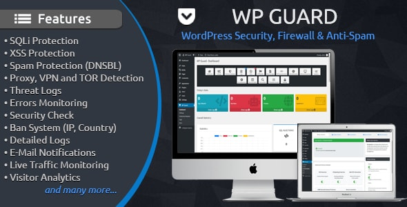 WP Guard - WordPress Security, Firewall & Anti-Spam
