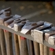 Blacksmith tools and actions forging iron objects. - PhotoDune Item for Sale