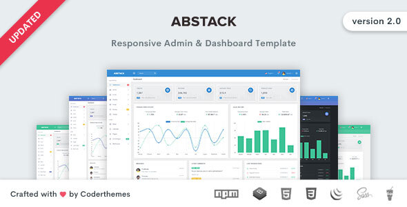 Abstack - Admin & Dashboard Template