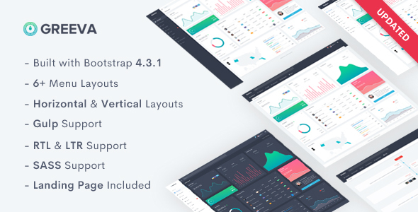 Greeva - Admin & Dashboard Template