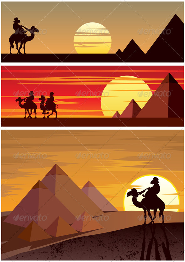 The Pyramids - Travel Conceptual