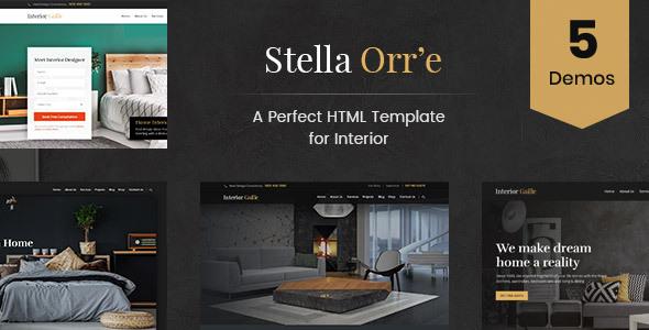 Stella Orre - Architecture And Interior HTML Template