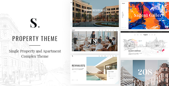 Incredible Sagen - Single Property and Apartment Complex Theme