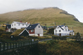 Small mountain village in Faroe Islands - PhotoDune Item for Sale