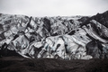 Glacier covered with volcanic ash in Iceland - PhotoDune Item for Sale