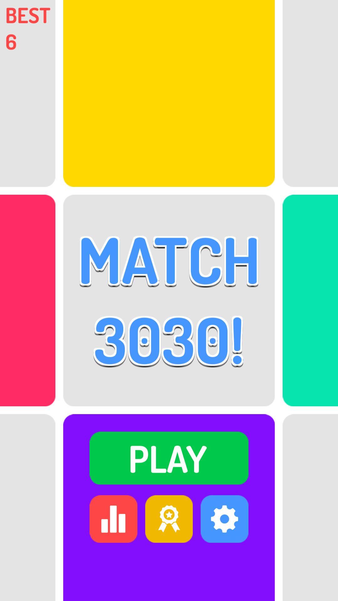 Match 3030! – Premium Unity2018