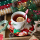Cup of tea and Christmas cookies - PhotoDune Item for Sale