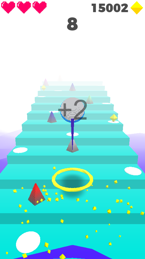 Unity Game Template - Heaven Stairs