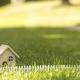 Little house on grass in sun light - PhotoDune Item for Sale