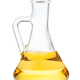 side view of glass jug with vegetable oil isolated - PhotoDune Item for Sale
