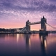 Tower Bridge at colorful sunrise - PhotoDune Item for Sale