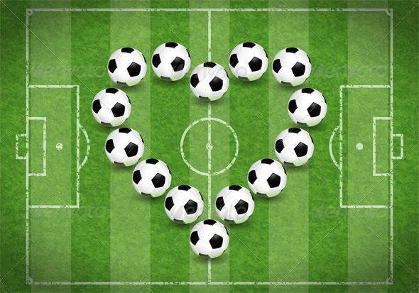Love for Soccer - Sports/Activity Conceptual