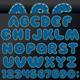 Denim Patch Font - GraphicRiver Item for Sale