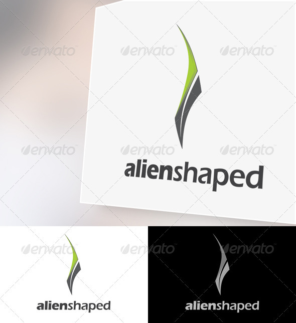 Alienshaped Logo Template - Abstract Logo Templates