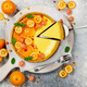 Cheesecake with slices of orange and kumquat - PhotoDune Item for Sale