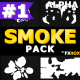 Hand Drawn Cartoon Smoke   Motion Graphics Pack - VideoHive Item for Sale
